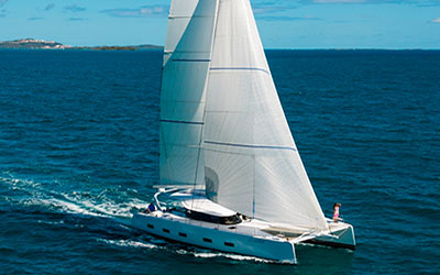 The best sailing catamarans in the world? Look at OQS from the neighbours of Swan and Baltic.