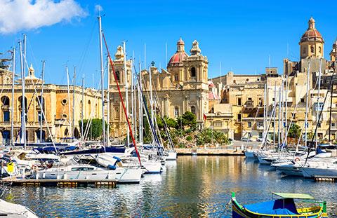 La Valetta harbour, Malta